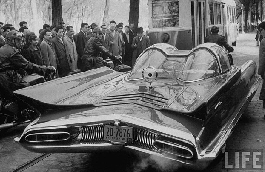 1959 Lincoln Futura Concept Car Ride Sally Ride Pinterest