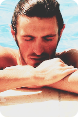 oh Gwaine.... you should always be drenched in water
