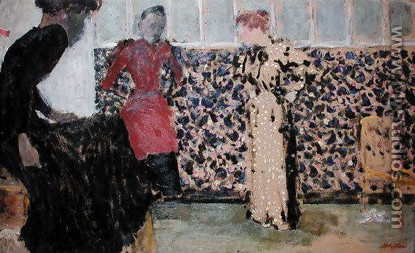 The Needlewomen 1893 94 Edouard Jean Edouard Vuillard Oil