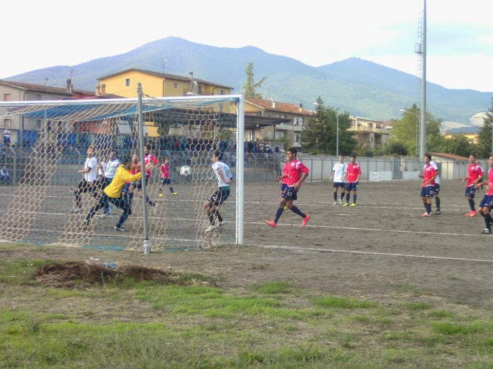 notizie lucane, basilicata news: CandidaMelfi-Real Senise 1-0. Decide un gol di Cas...