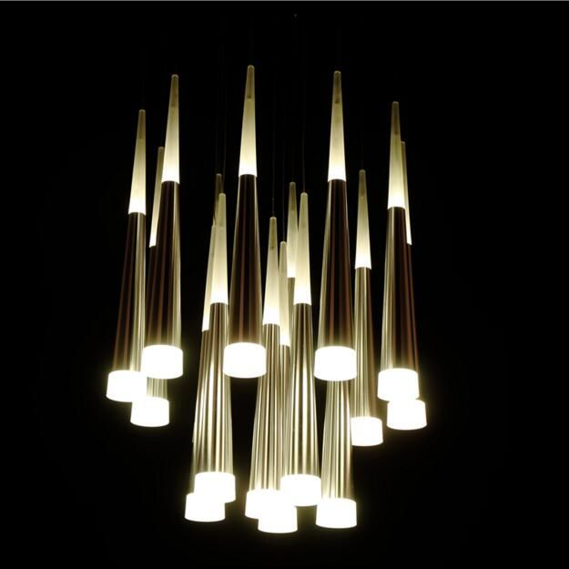 10+ Stunning Tube Lights For Living Room