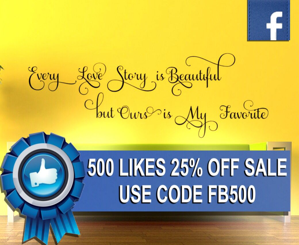 This weekend use coupon code FB500 to get 25% off everything in our ...