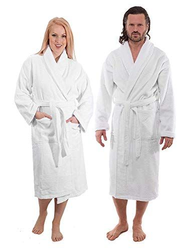 1b65e7d065b24 Luxury Terry Cloth Bathrobe - Premium Hotel Robes Made with 100% Turkish  Cotton (4