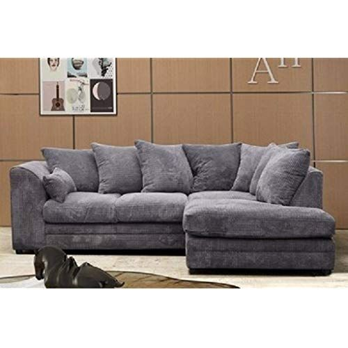 Corner Sofa Living Room, Small Grey