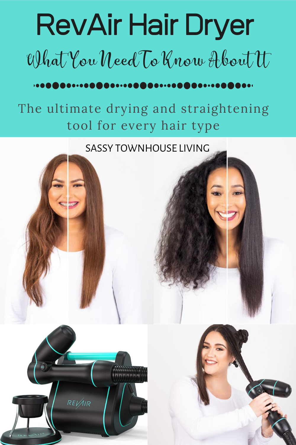 RevAir Hair Dryer What You Need To Know About It Sassy
