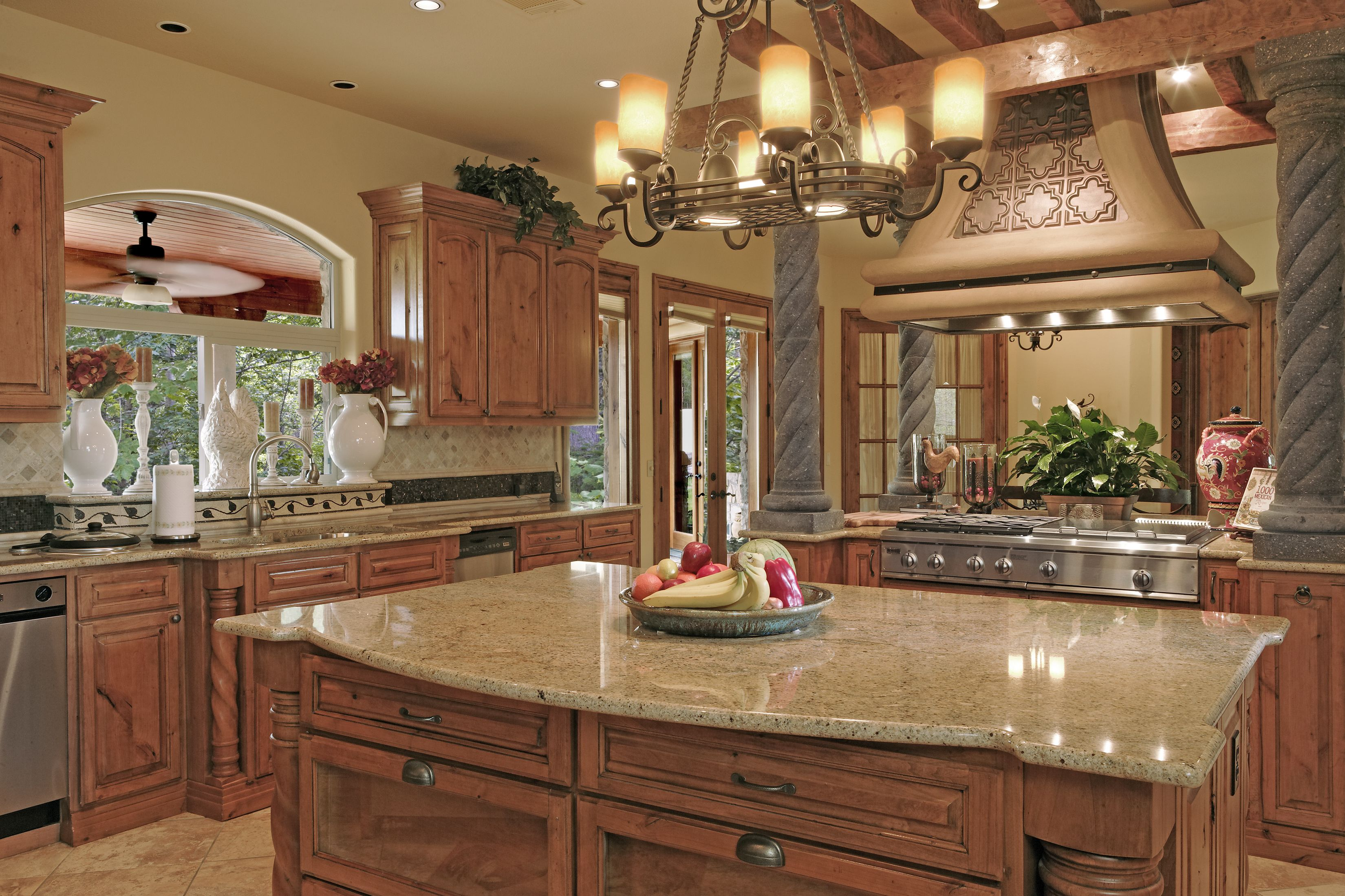 Artisan Stone Collection Granite Countertops in a