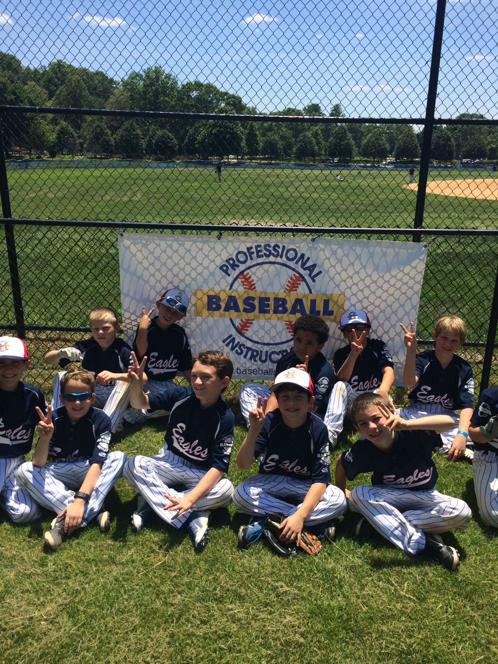 Pbi Baseball League Spring 2015 Season 9u A Division Runners Up 9u Eagles June 2015 Baseball League Club Baseball League