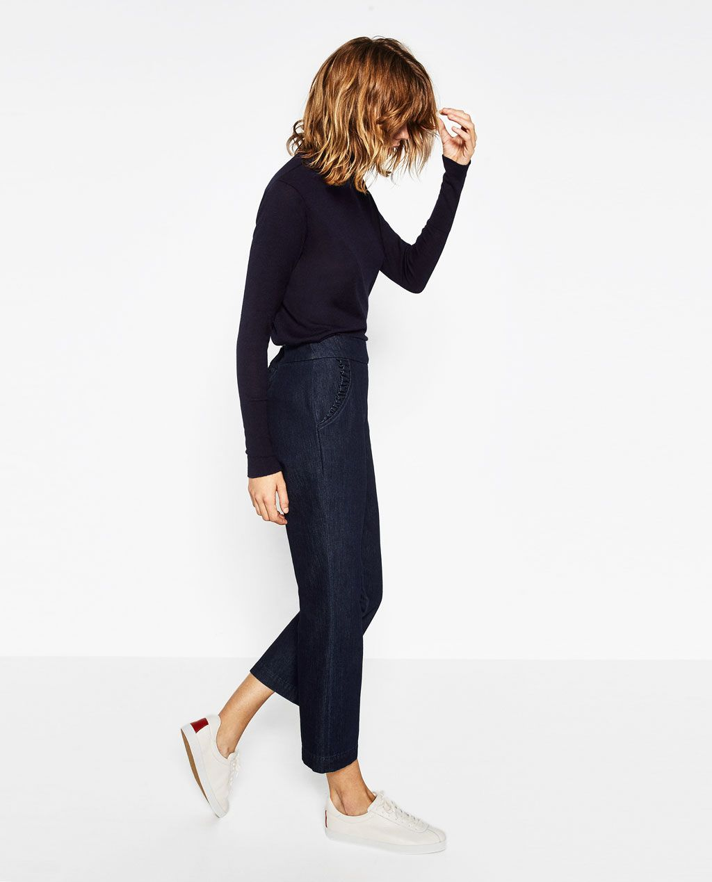 タートルネックセーター-今週の新商品-レディ-ス | ZARA 日本