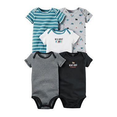 | Carter's® 5 pk. Bodysuits Baby Boys newborn