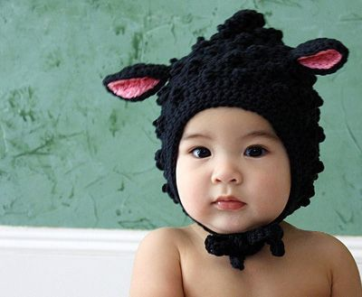 d01a782359825 hand-crocheted hat from Baby Gardner