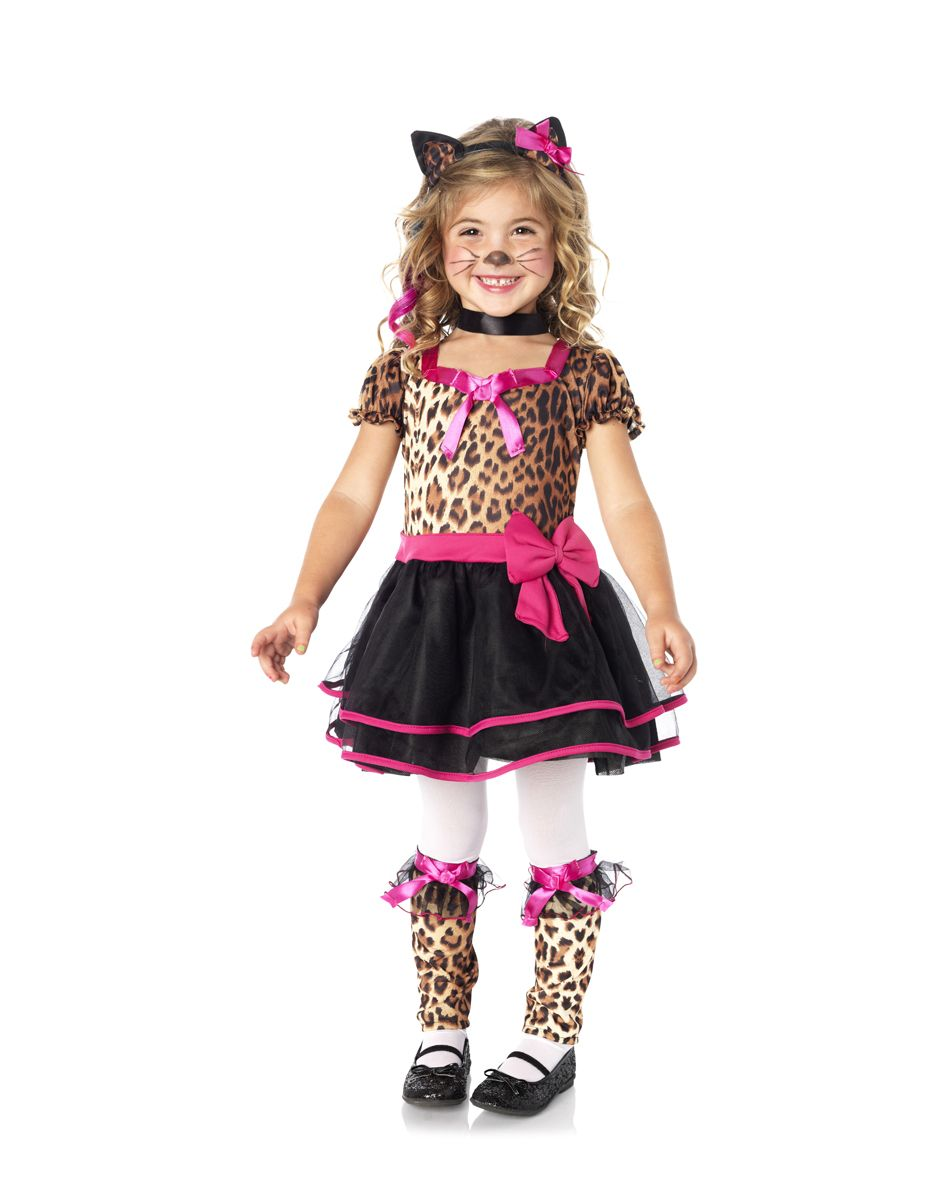 Playful Leopard Toddler Costume