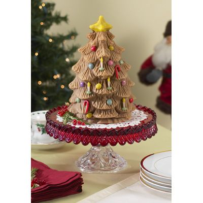 Nordic Ware Cast Aluminum 3d Christmas Holiday Tree Cake
