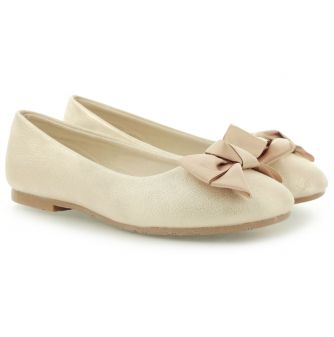 Zlote Balerinki Gioseppo Lazada Gold 25296 Loafers Shoes Gold