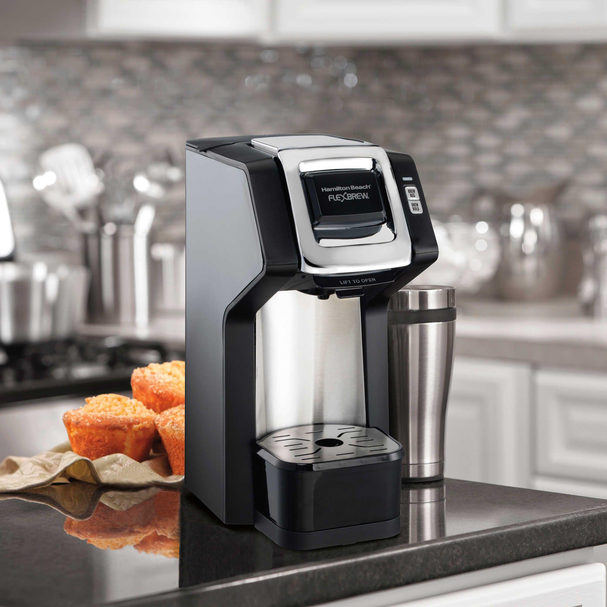 Hamilton Beach® FlexBrew® SingleServe Plus Coffee Maker