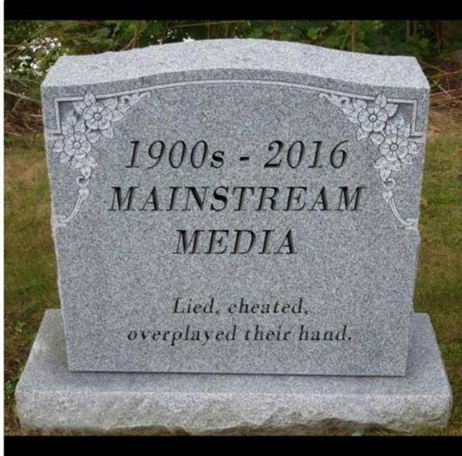 Image result for americans waking up to mainstream media lies