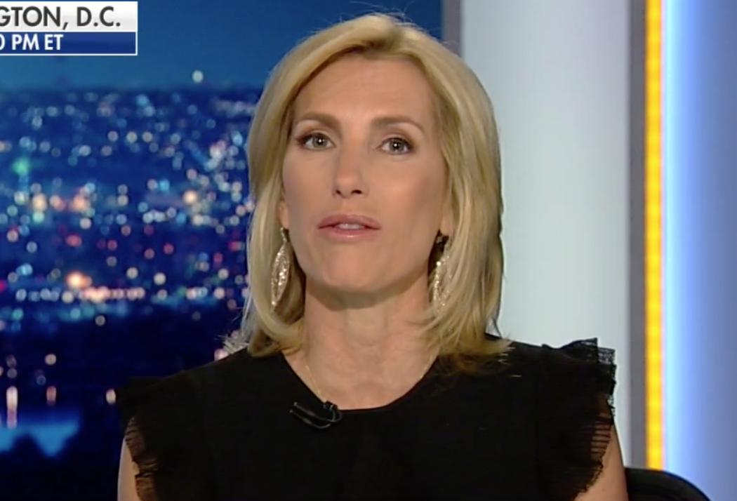 Fox News Host Laura Ingraham's Celebration of Trump's
