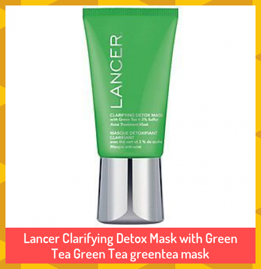 Photo of Lancer Clarifying Detox Mask with Green Tea Green Tea greentea mask #Clarifying …