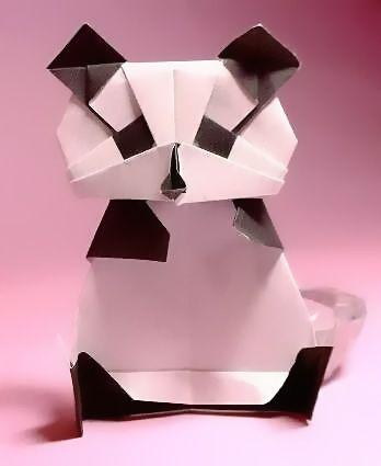 Origami Panda by Kunihiko Kasahara, Japan