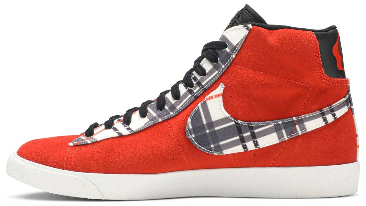 Ben Simmons X Blazer Mid Premium Plaid In 2020 Ben Simmons