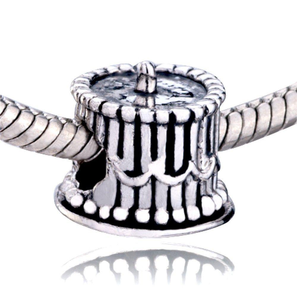Birthday Cake Beads Pandora Chamilia Compatible Charmsstorycom