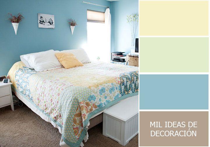 40 Magnificas Combinaciones De Colores Para Pintar El Dormitorio Colores Para Dormitorio Paletas De Colores Para Dormitorio Decoracion De Paredes Dormitorio