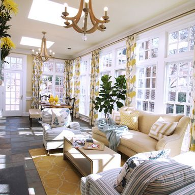 Pinterest & Contemporary Long And Narrow Sunroom Design Ideas Pictures ...