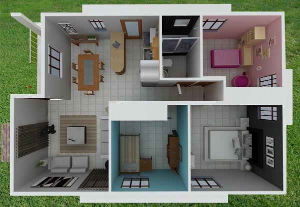 Construccion de planos de planos de casas for Planos de construccion