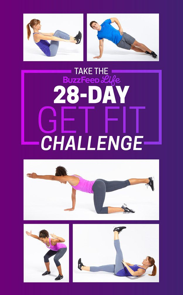 This 28 Day Challenge Will Get You To Actually Start Working Out Workout Challenge Fun Workouts Workout