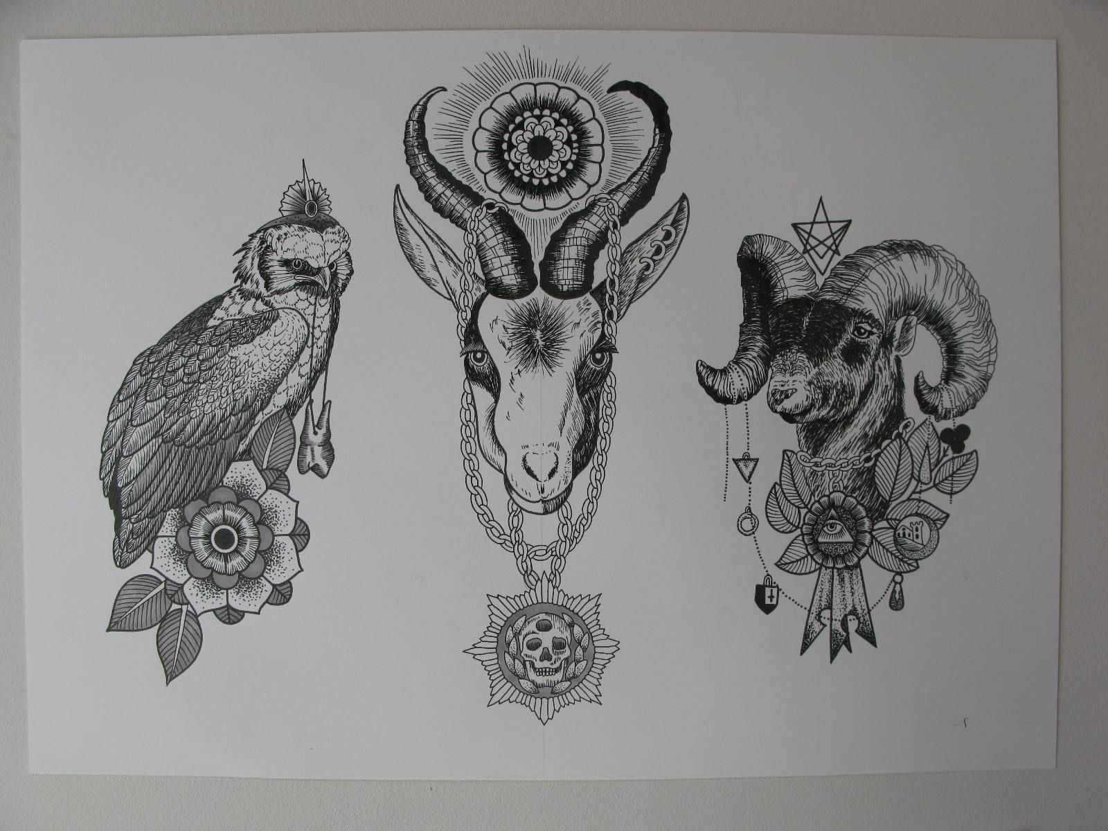 geometric animal tattoo designs new flash my tattoo inspiration pinterest animal tattoos. Black Bedroom Furniture Sets. Home Design Ideas