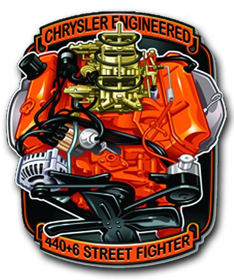 "Doge Chrysler MOPAR Super BEE Hemi 9/"" x 12/"" Aluminum Sign"