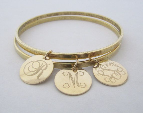 Mother S Bracelets Personalized Initial