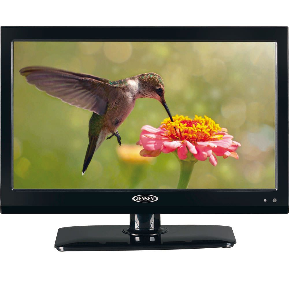Energy Efficient 12 Volt Tv Player Features A Built In Hdtv Tuner That S Compatible With 1080p 720p And 480p Formats To Deliv Lcd Television Lcd Tv Dvd Player