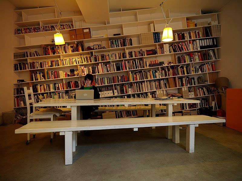 Captivating Slanted Bookcases, How Fun