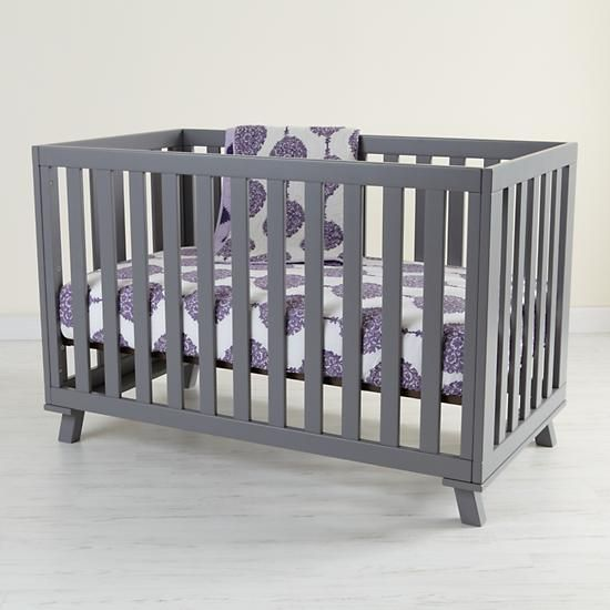 Cute Gray Crib... Picture Doesnu0027t Show... But Yellow
