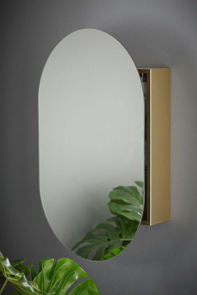 Next Mirror Oval Wall Cabinet Gold Wall Cabinet Bathroom Mirror Cabinet Mirror