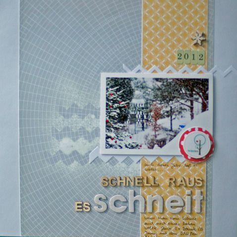 Night - Shift - Stamping: Schnee