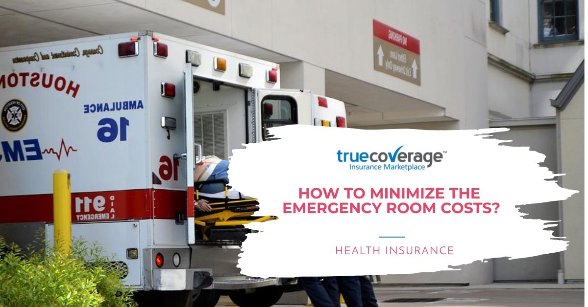 How to minimize the high emergency room cost in your