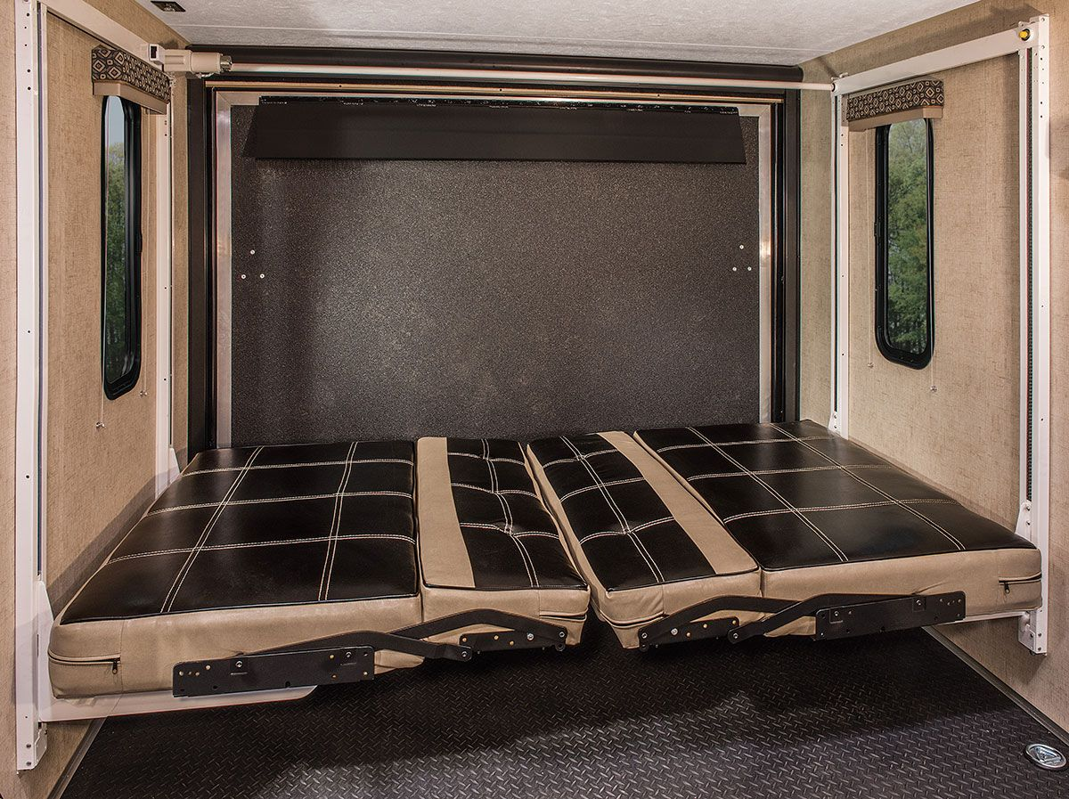 2016 KZ RV MXT MXT3030 Travel Trailer Toy Hauler Cargo