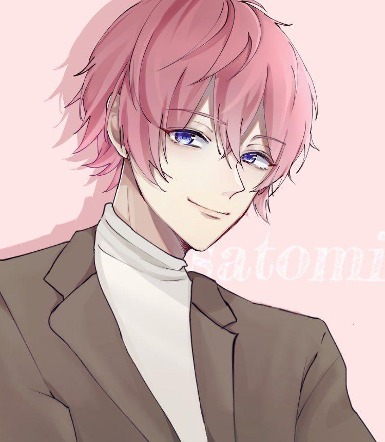 Twitter Cute Anime Chibi Cute Anime Guys Pink Hair Anime