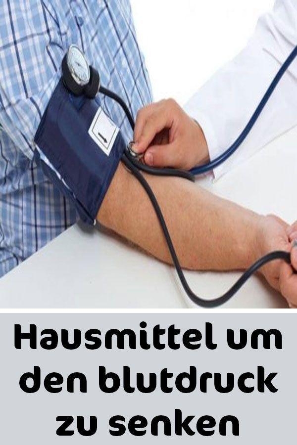 Hausmittel um den Blutdruck zu senken - Blutdruck..