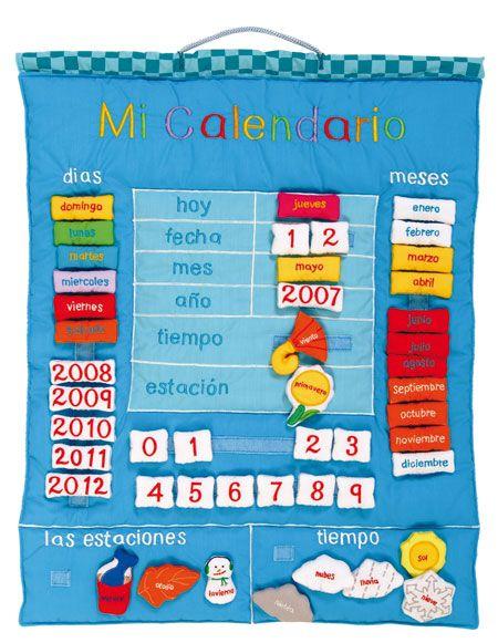 Calendario Para Ninos De Kinder.El Calendario De Las Recompensas Ideas Para Manualidades