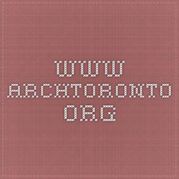www.archtoronto.org