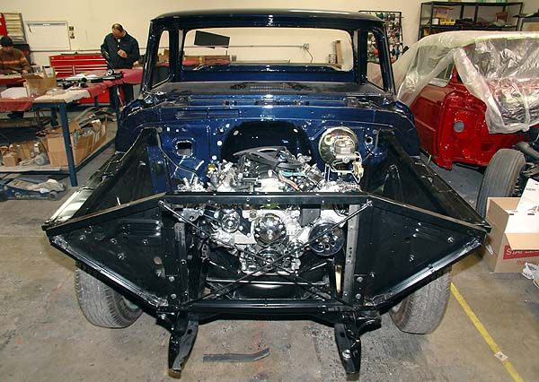 Brothers Radiator Core Support Mount Kit 64 Chevy Pickup