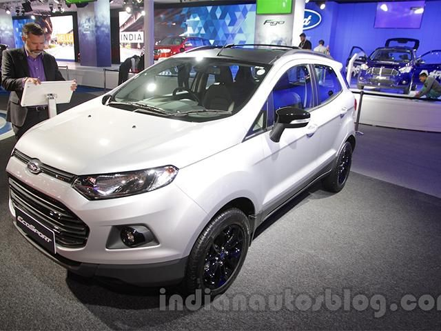 Ford EcoSport Black Edition Launched At Rs 858 Lakh
