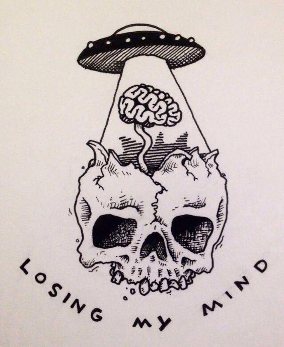 skull alien tattoo tatuajes spanish tatuajes tatuajes para mujeres tatuajes para hombres