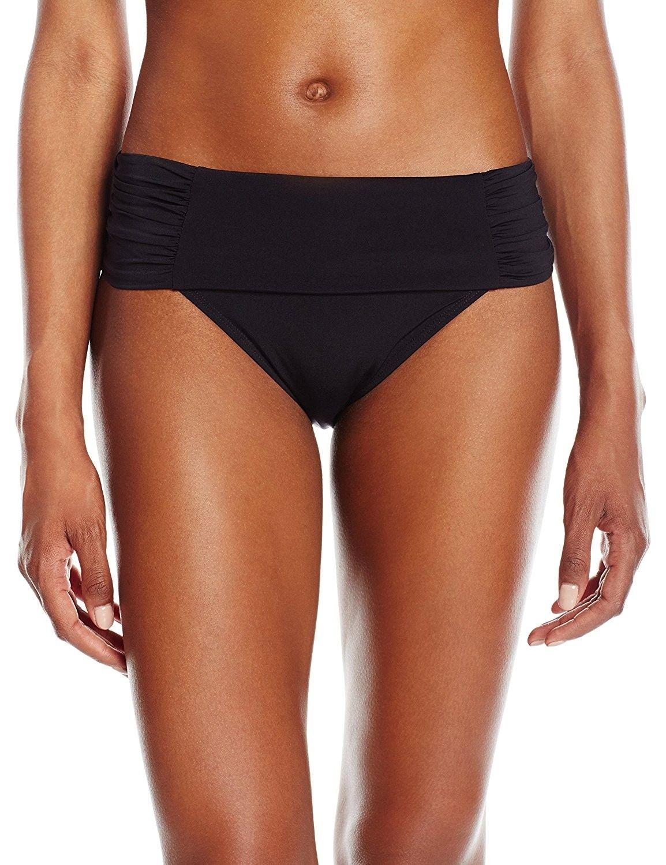 b216abccf22b8 Women s Marina Fold Bikini Bottom - Black - CG12NA88OXM