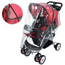 Universal Carrycot Rain Cover Clear