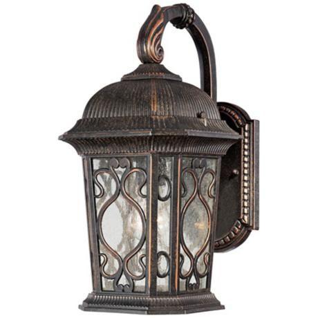 Veranda collection 17 high outdoor wall downlight lampsplus outdoor lighting workwithnaturefo