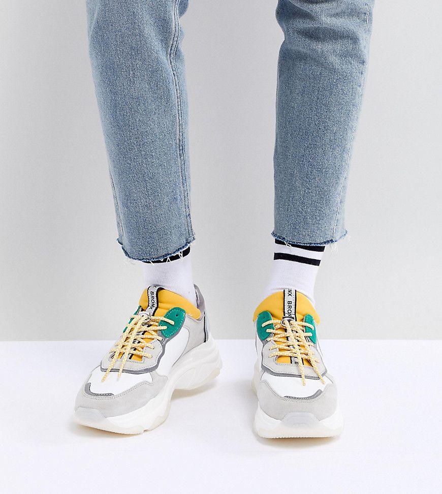 Damen Sneaker Bronx Klobige Sneaker aus Wildleder in