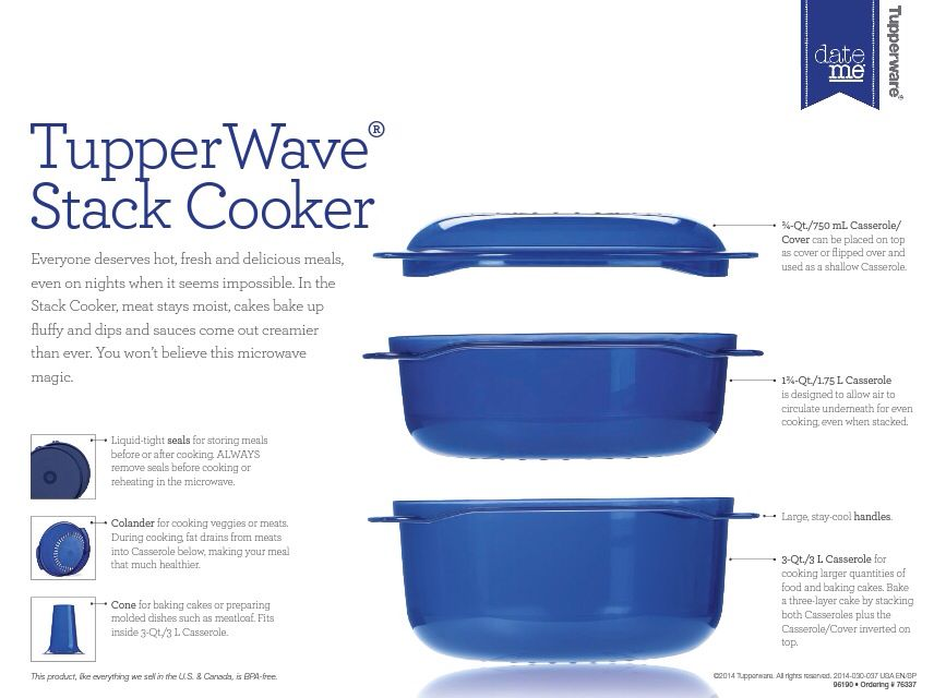 Stack Cooker Cake Recipes Tupperware